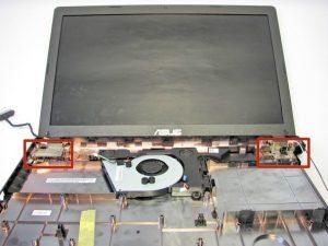 تعویض ال سی دی لپ تاپ Asus X551CA