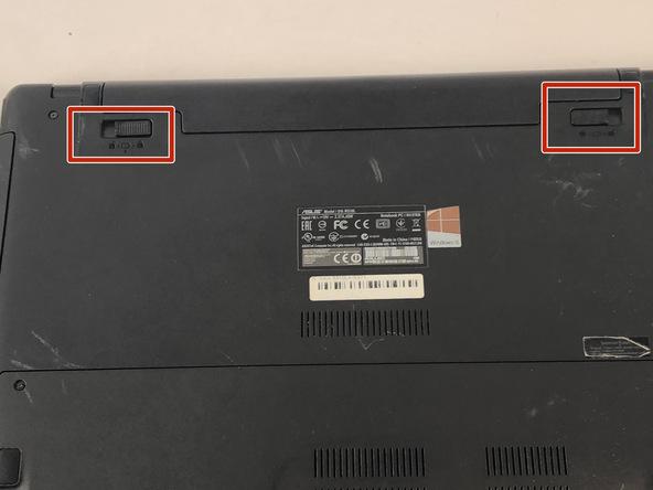 آموزش تعویض باتری Asus R510LA-RS71