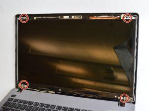 راهنمای تعویض صفحه نمایش Asus R510CA-OB01