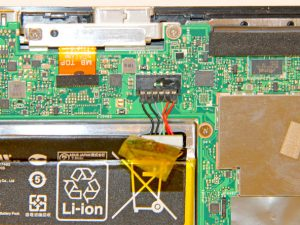 راهنمای تصویری تعویض باتری Asus Transformer T100
