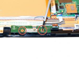 راهنمای تصویری تعویض برد دوربین جلو Transformer T100