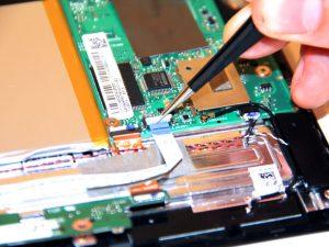 راهنمای مرحله به مرحله تعویض برد دوربین جلو Transformer T100